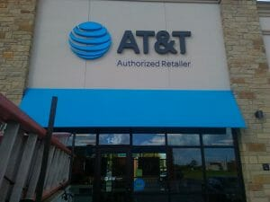 We fabricate and install signs for national brands