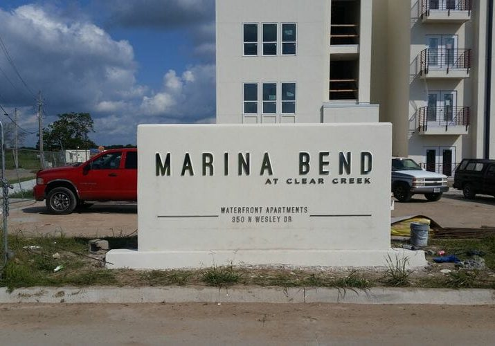 We create monument signs for apartments, communities and businesses